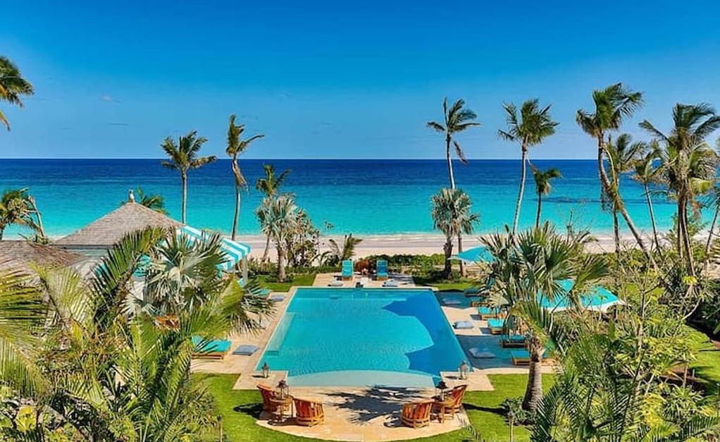 Diária de R$ 46 mil: por dentro da casa de férias de Kylie Jenner, em Bahamas