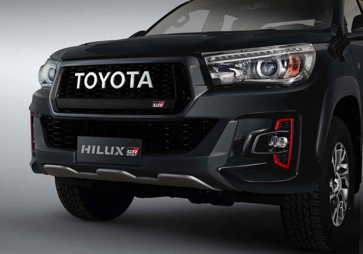 Nova Toyota Hilux GR-S. Foto: Divulgação