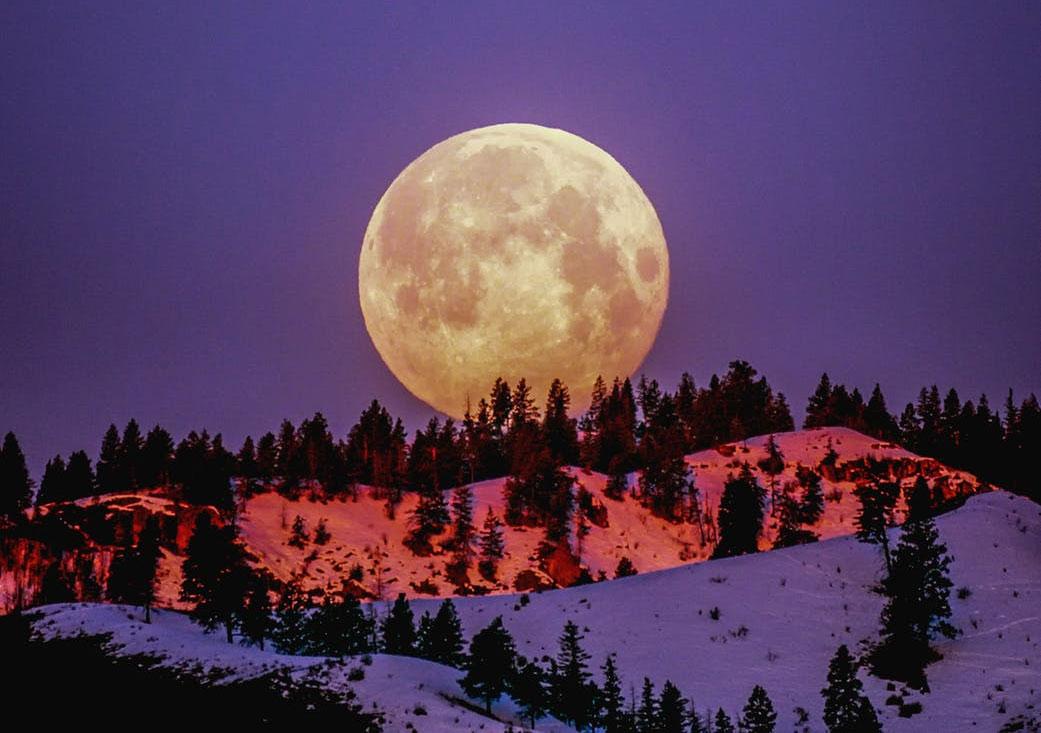 A maior Super Lua do ano é na próxima semana. Foto: Pexel