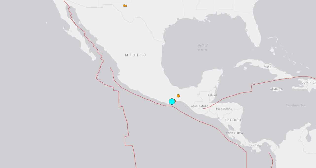 Terremoto de magnitude 7,4 atinge o México