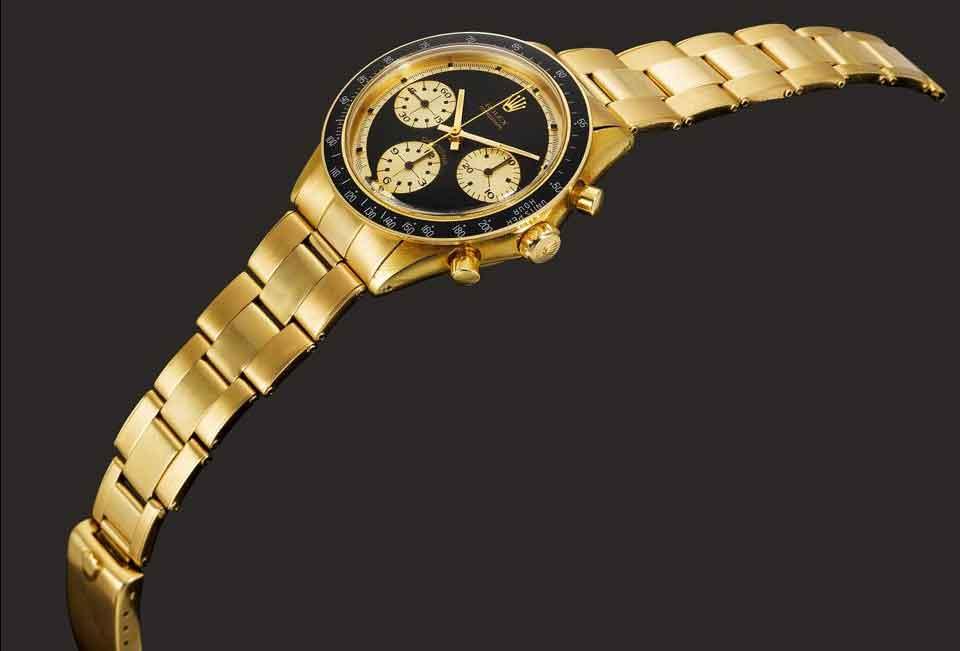 Rolex Cosmograph Daytona 6264 em ouro 18k