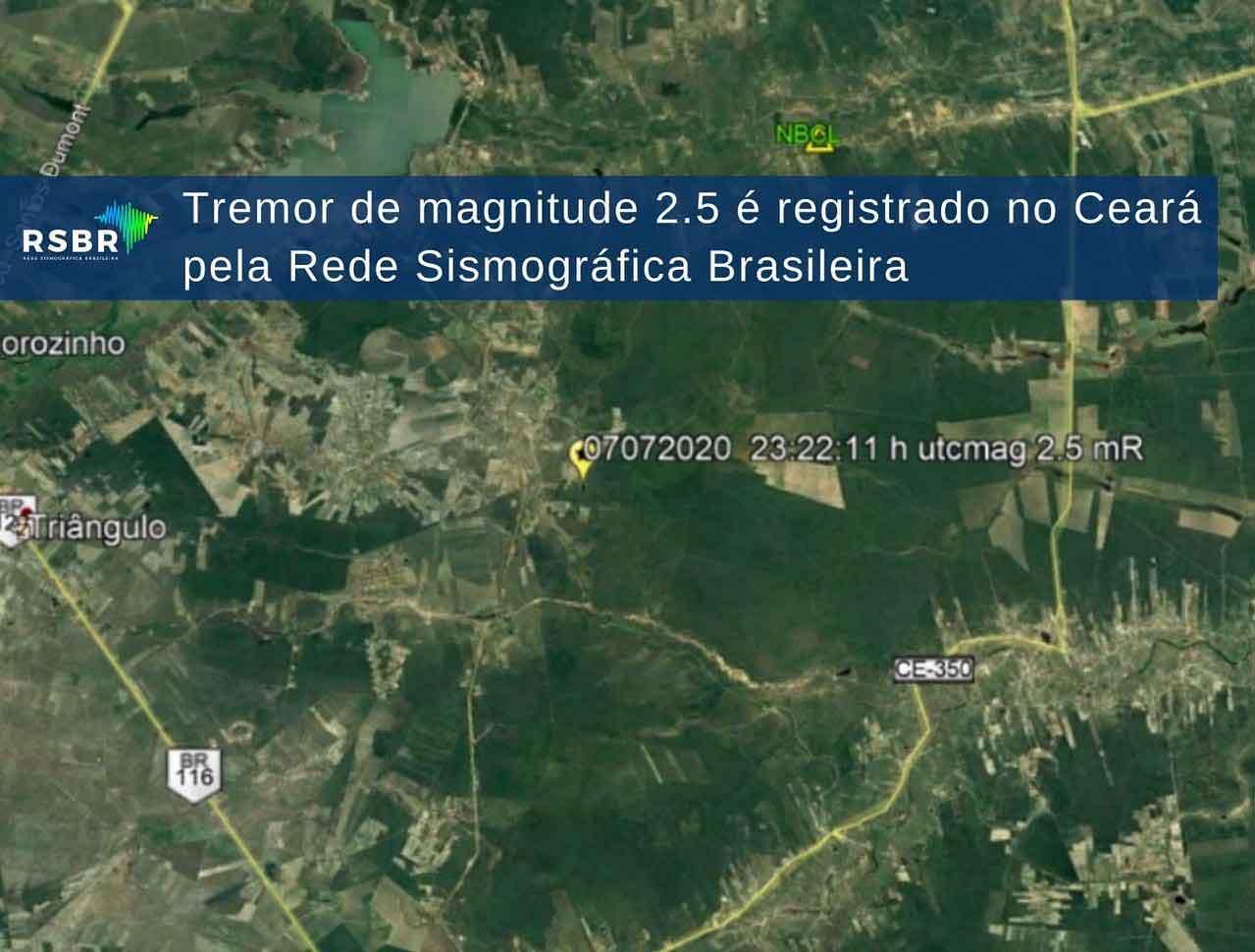 Terremoto em Fortaleza assusta moradores e internautas
