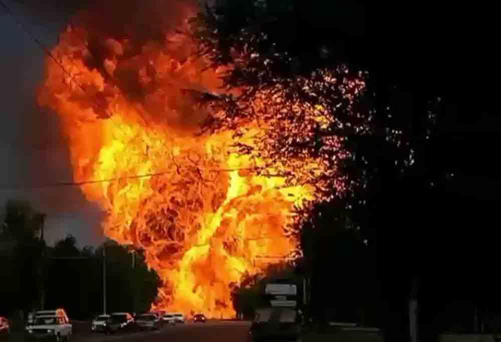 Explosão na Rússia deixa ao menos 13 feridos – veja vídeo . Foto: twitter