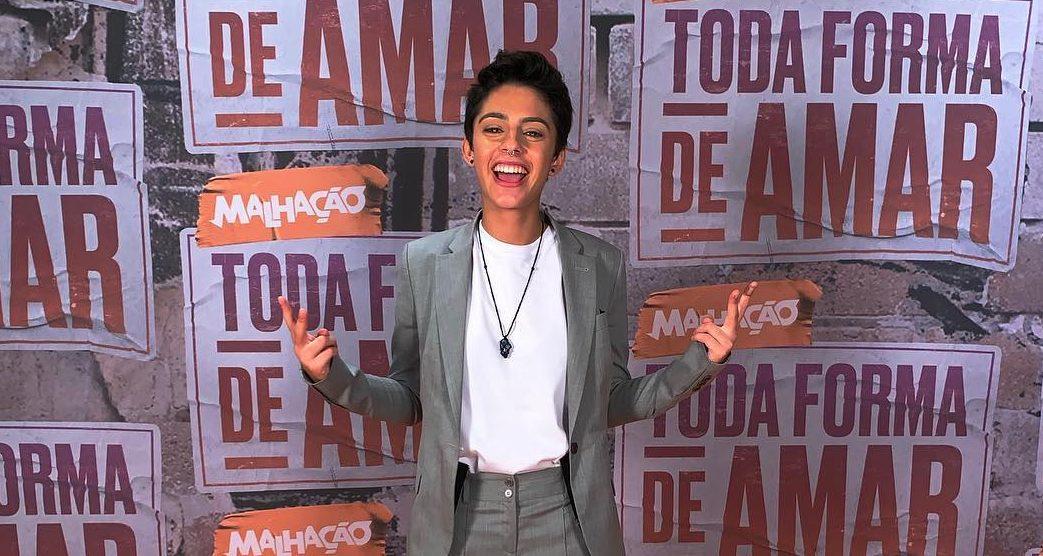 """""""Eu era atriz de mim"""", diz ex-Malhação ao revelar transição sexual no Instagram . Foto: Instagram"""