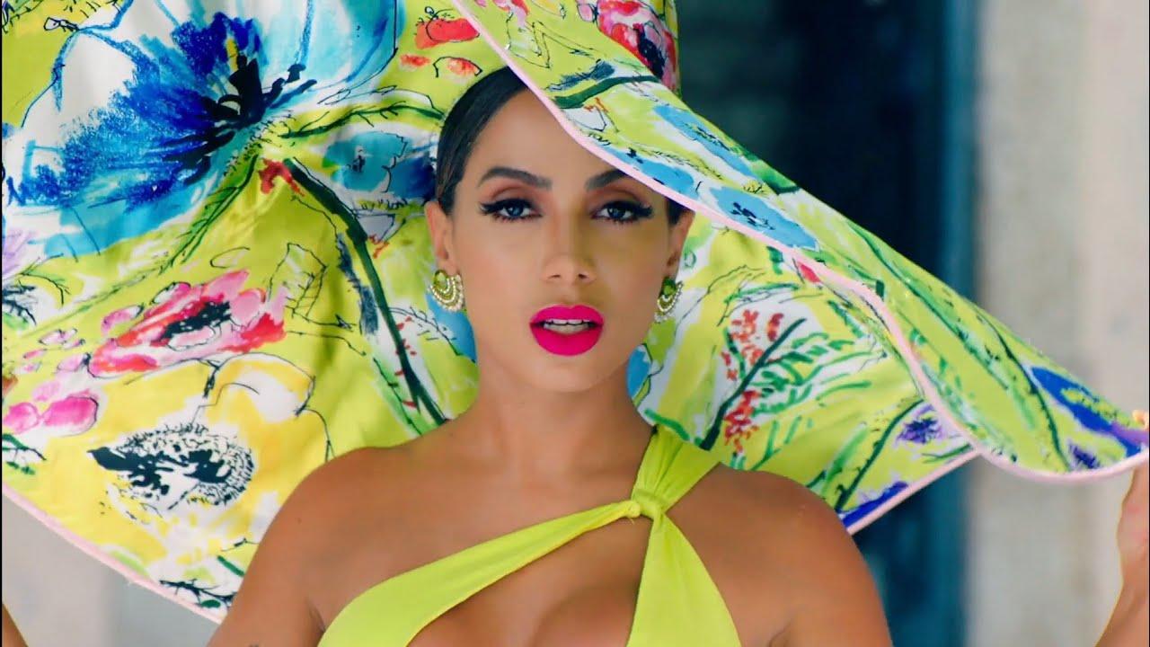 Vídeo de Anitta é o quarto mais visto no YouTube dos EUA. Foto: reprodução Youtube