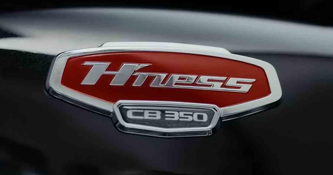 Novas informações e fotos e vídeo da nova H'ness CB 350. Foto: Divulgação