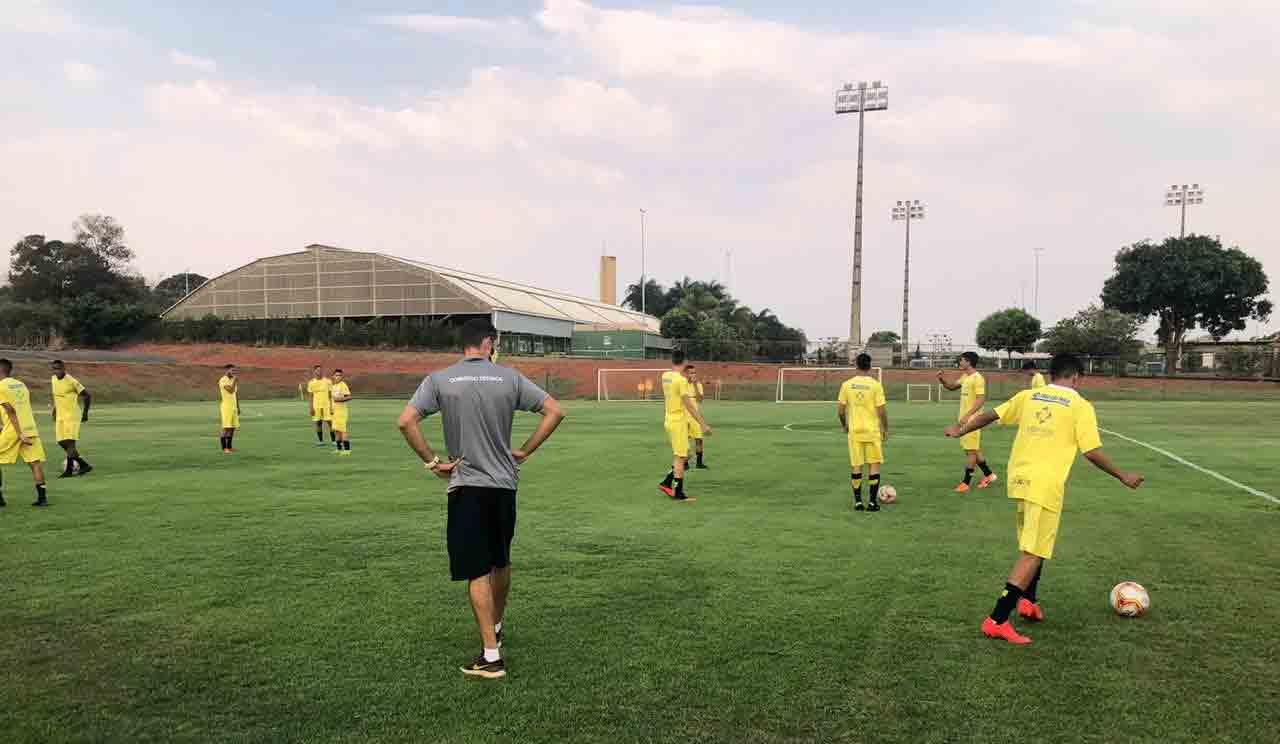 Último treino do Brasiliense em Brasília antes da partida . Foto: reprodução Twitter
