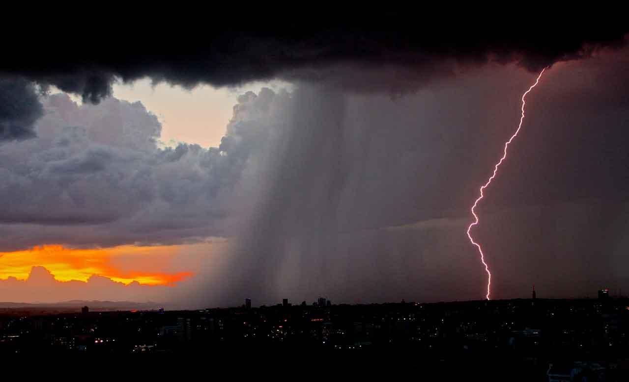 Tempestades avançam sobre Santa Catarina, ventos acima de 80 km/h. Foto ilustrativa: pixabay