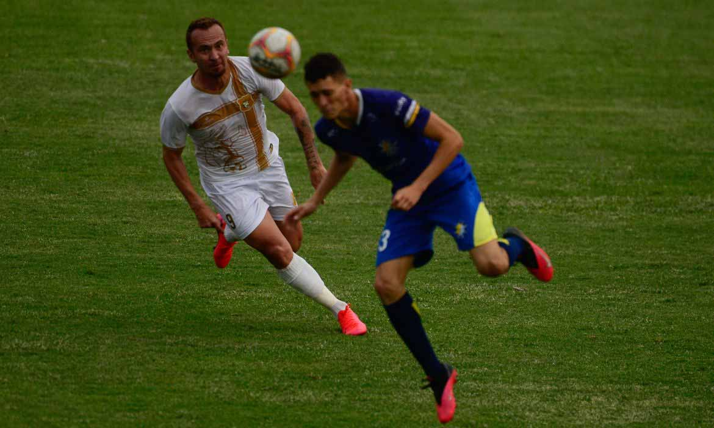 Brasiliense e Palmas se enfrentam no estádio Boca do Jacaré, pela quinta rodada da Série D do Campeonato Brasileiro. - Marcello Casal jr/Agência Brasil