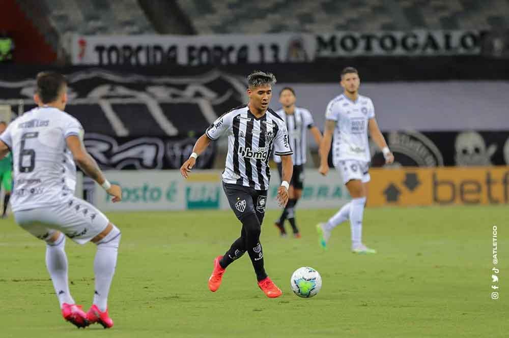 Brasileiro: Atlético-MG supera Botafogo e abre vantagem sobre Flamengo. Foto: Reprodução twitter
