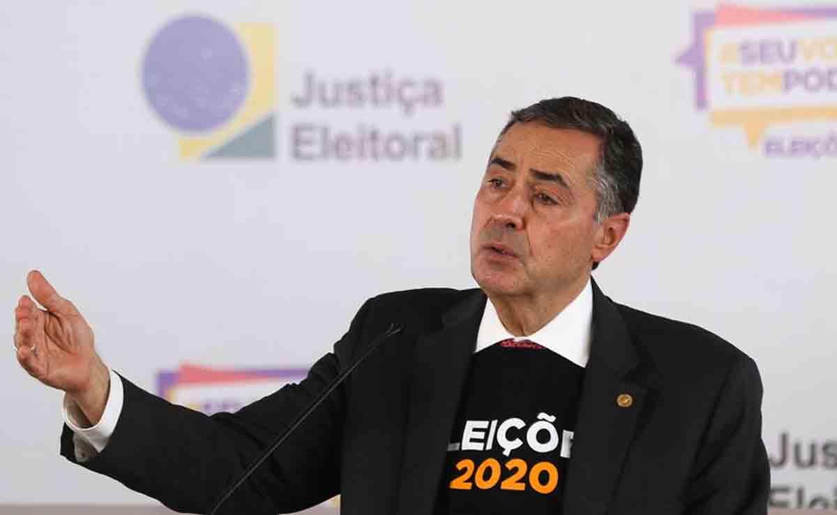 TSE neutraliza ataque que tentou sobrecarregar sistemas, diz Barroso. Foto: © Marcello Casal JrAgência Brasil