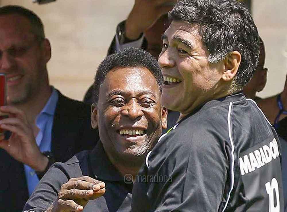 Diego Armando Maradona morreu. Foto: Reprodução Instagram