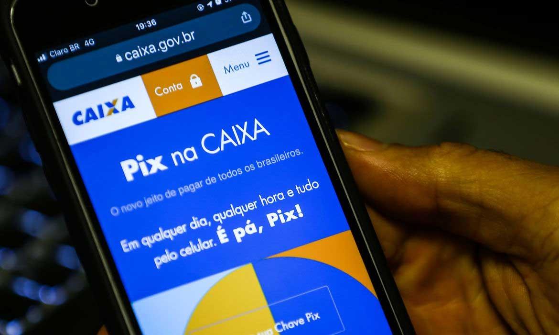 Fase restrita de pagamentos pelo Pix começa hoje . Foto: © Marcello Casal JrAgência Brasil