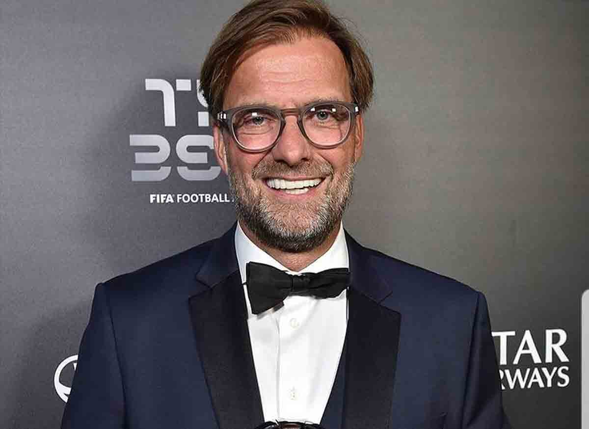 Jürgen Klopp é eleito o melhor técnico do mundo pela 2ª vez. Foto: Reprodução Instagram