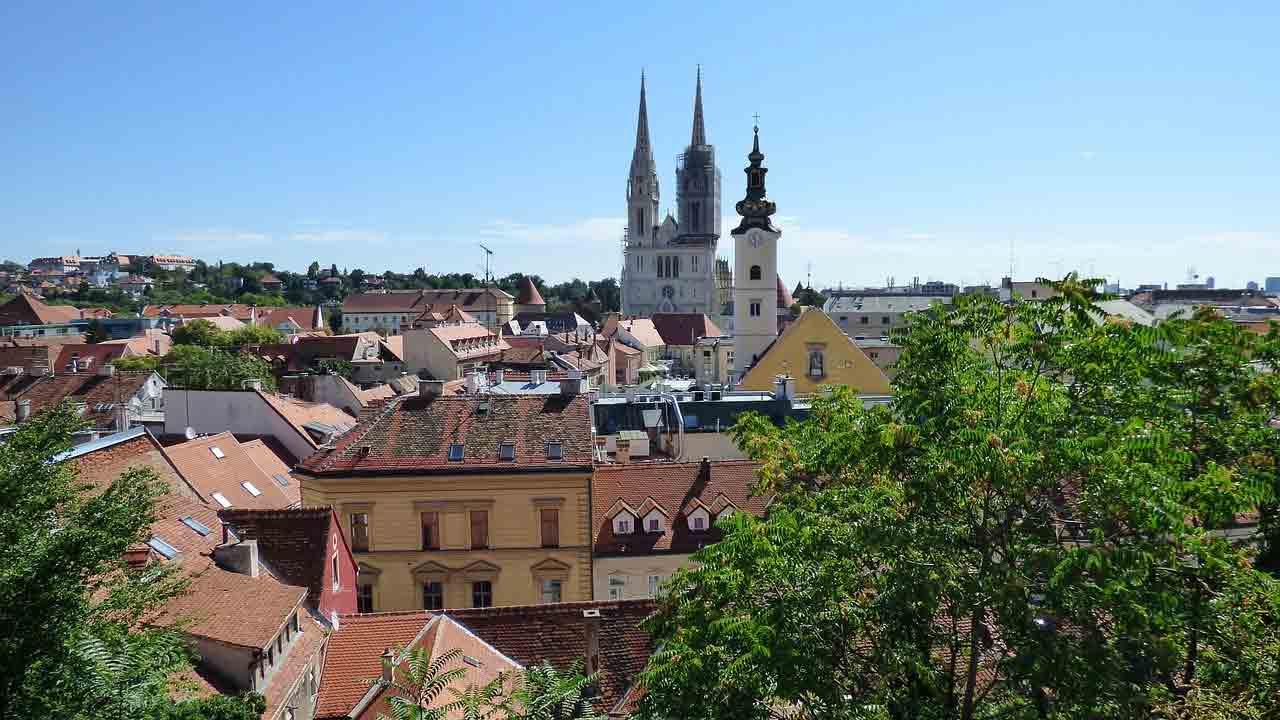Terremoto de magnitude 5,2 atinge a Croácia. Foto: Zagreb, capital da croácia / Pixabay