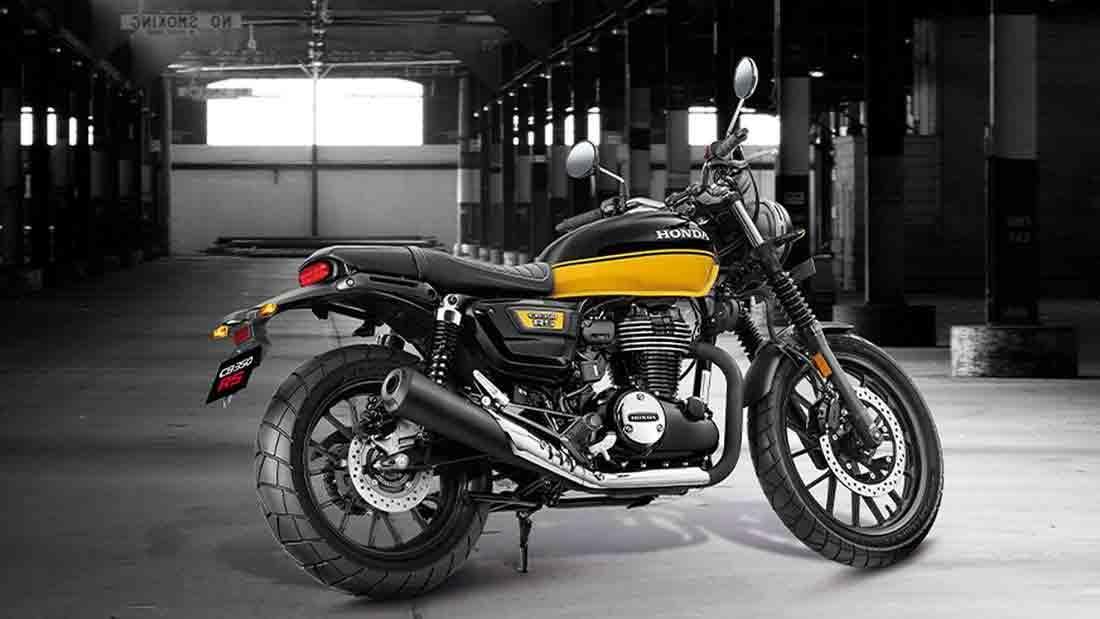 Irmã mais esportiva da Cb 350 H'ness, nova Honda CB350 RS é apresentada. Foto: Divulgação