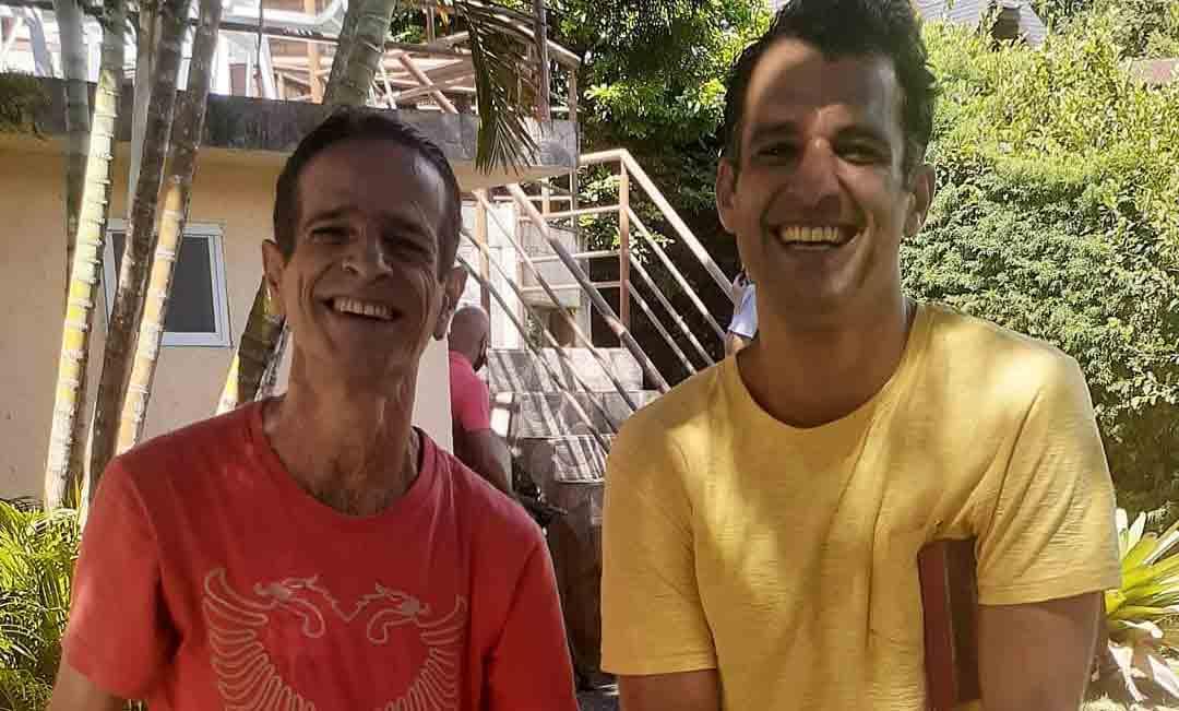 """Irmãos de """"A Viagem"""" se reencontram após 27 anos. Foto: Reprodução Instagram"""