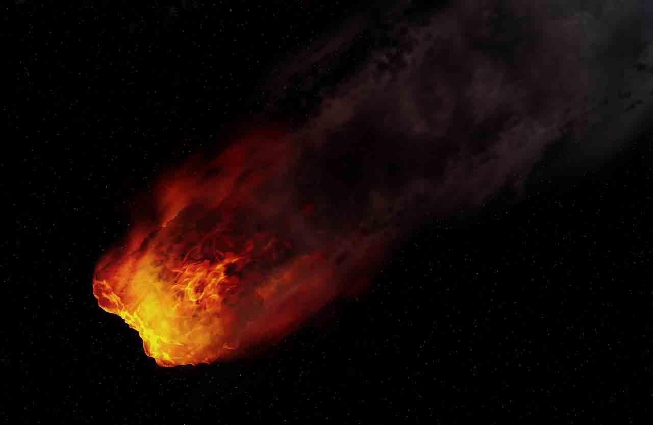 Bola de fogo voa sobre o Nordeste dos EUA a mais de 75 mil km/h. Foto ilustrativa Pixabay