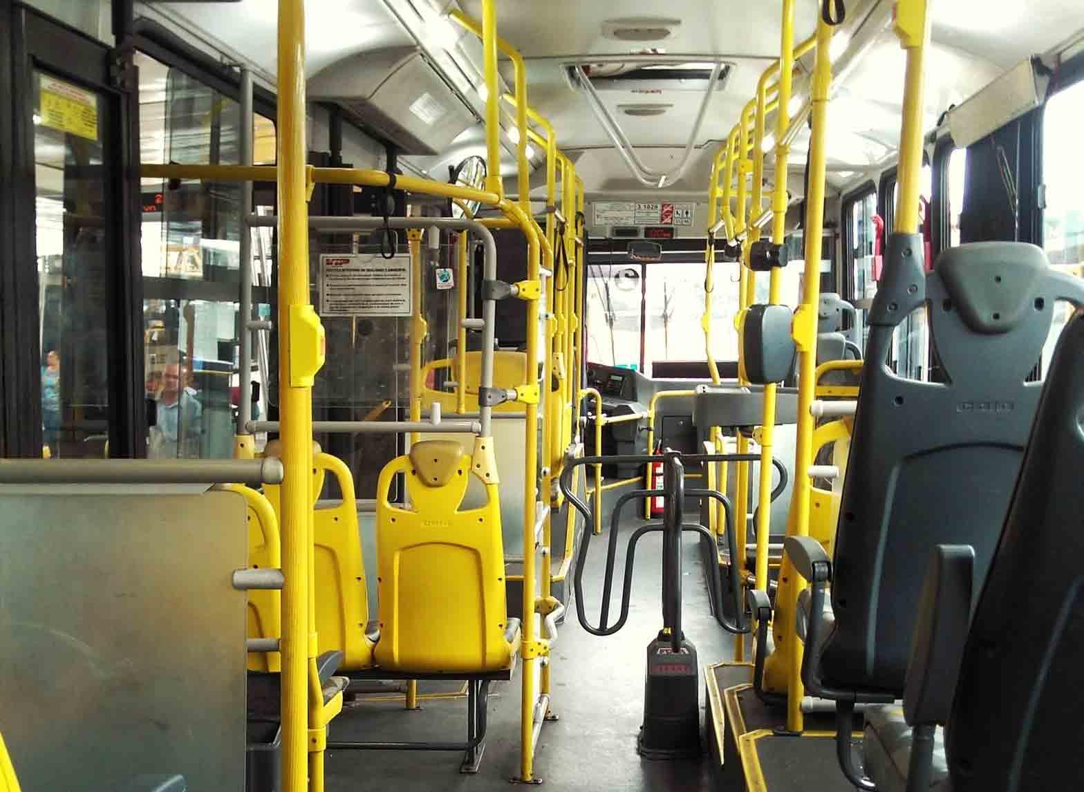Greve de ônibus nesta quinta-feira (25) em São Bernardo do Campo. Foto: Pexel