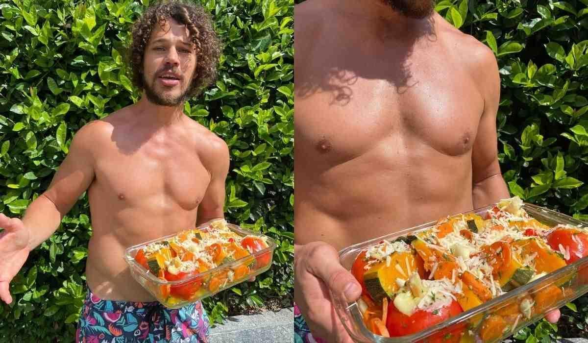 José Loreto exibe prato vegano e adere a campanha 'segunda sem carne' (Foto: Reprodução/Instagram)