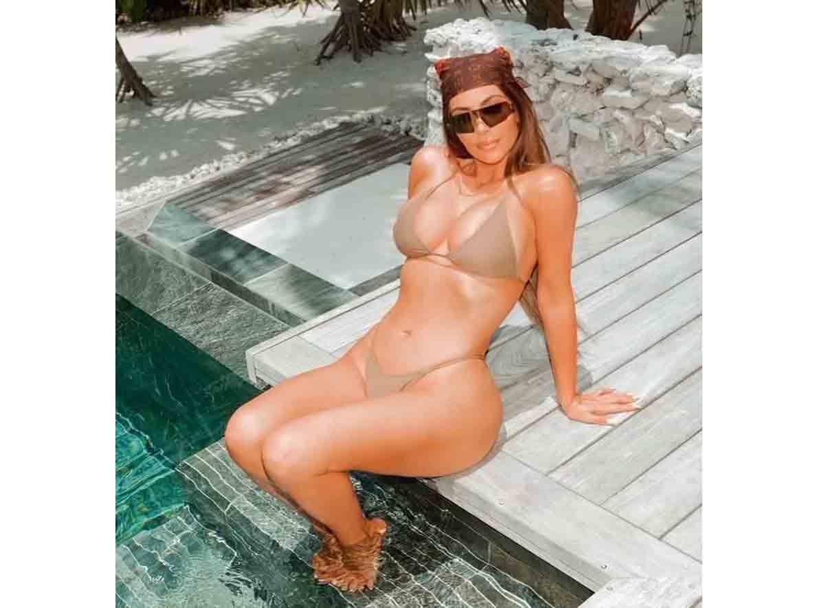 Kim Kardashian é oficialmente bilionária, de acordo com a 'Forbes' (Foto: Reprodução/Instagram)