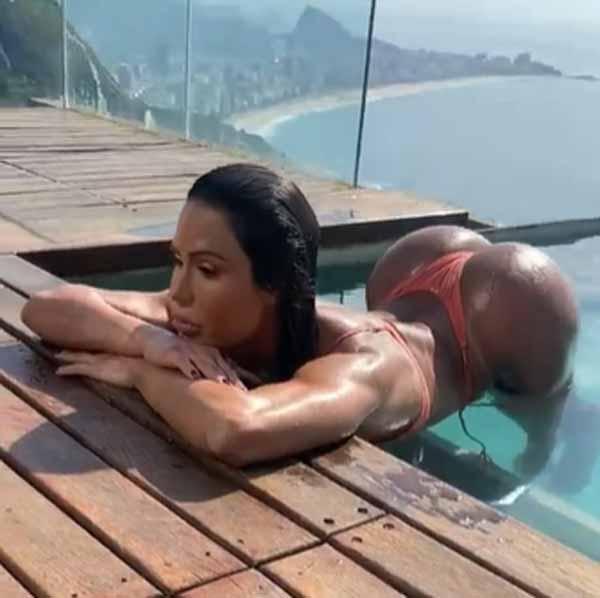 """""""O Rio de Janeiro continua lindo"""" Foto: reprodução Instagram"""