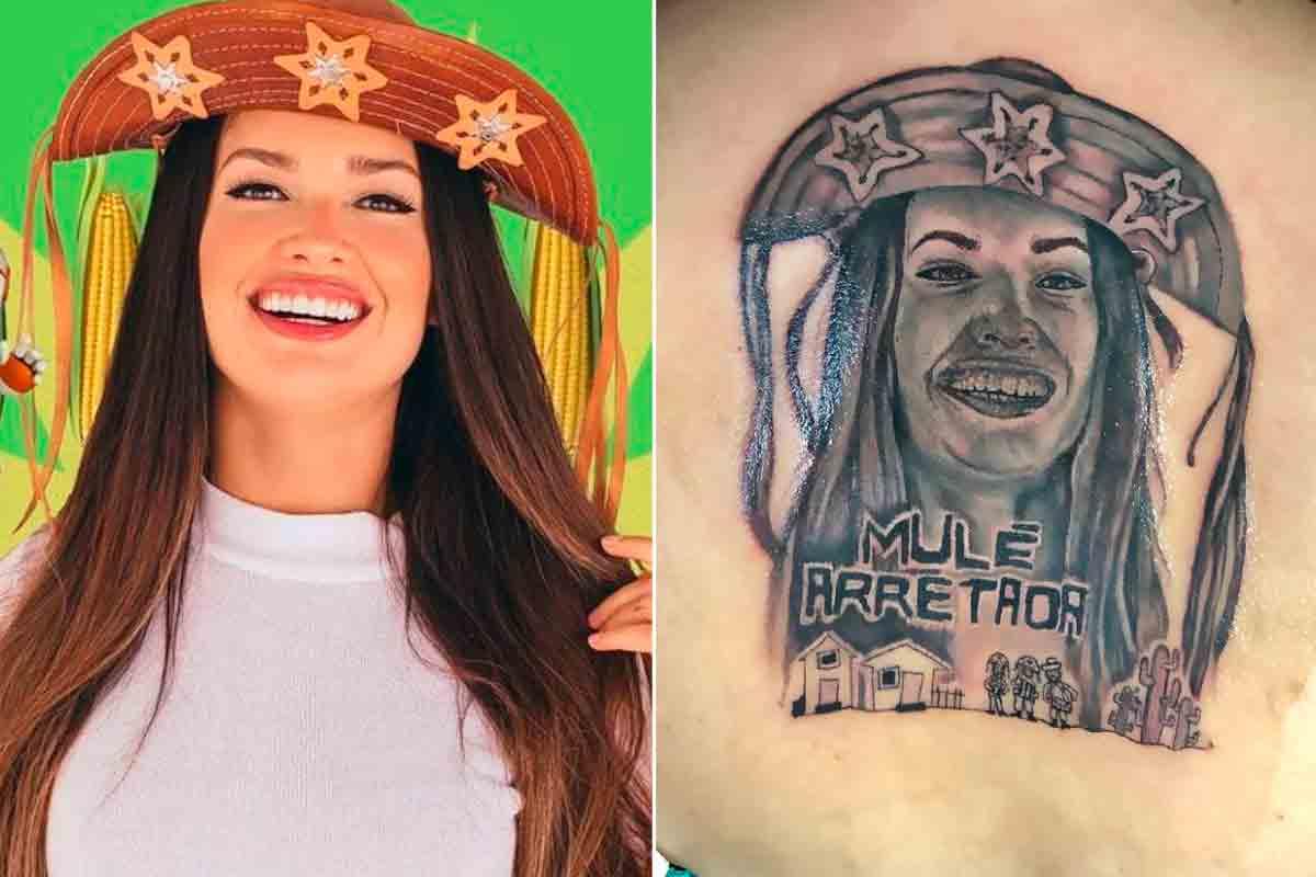 BBB 21: Fã faz tatuagem enorme de Juliette Freire nas costas (Foto: Reprodução/Instagram)