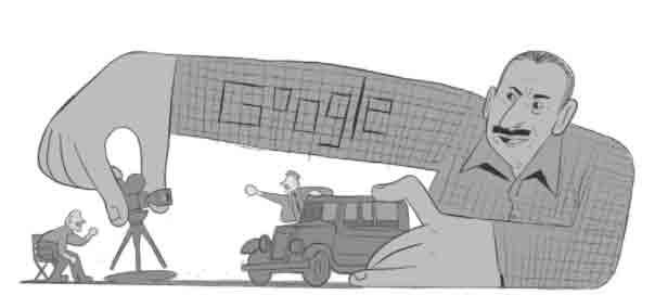 O Doodle foi ilustrado pelo artista convidado brasileiro Arthur Vergani. Foto: Divulgação