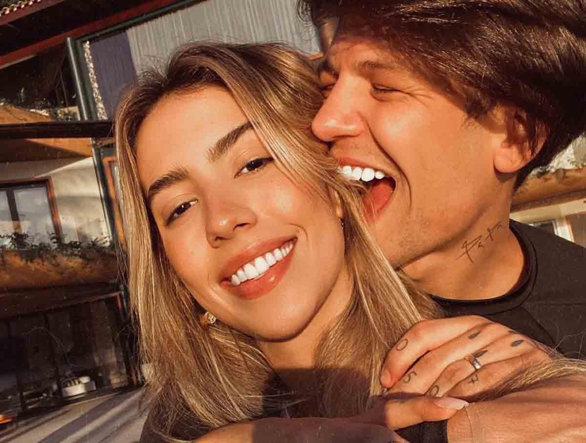 Mulher de Saulo Pôncio, Gabi Brandt é internada com pielonefrite em hospital do Rio de Janeiro. Foto: reprodução Instagram