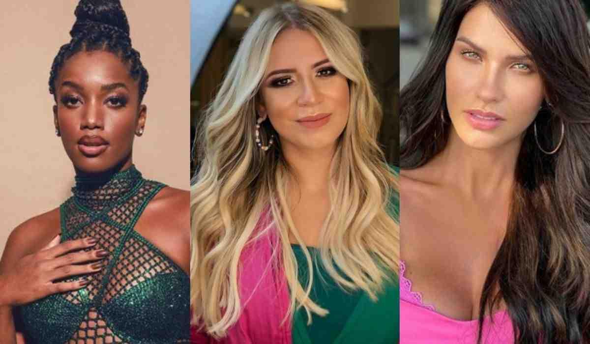 Marília Mendonça elogia IZA e Andressa Suita: 'as mais bonitas que já vi' (Foto: Reprodução/Instagram)