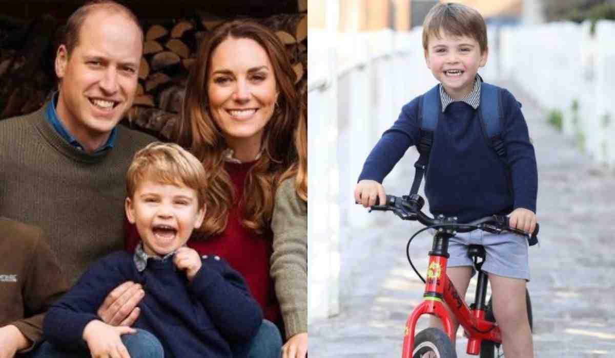 William e Kate postam foto de Louis para celebrar aniversário de 3 anos (Foto: Reprodução/Instagram)