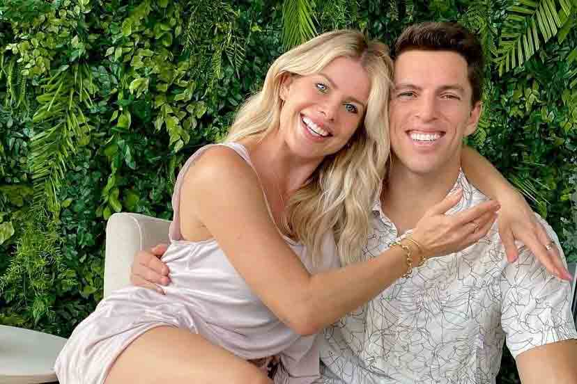 Amaury Nunes celebra aniversário de casamento com Karina Bacchi (Foto: Reprodução/Instagram)