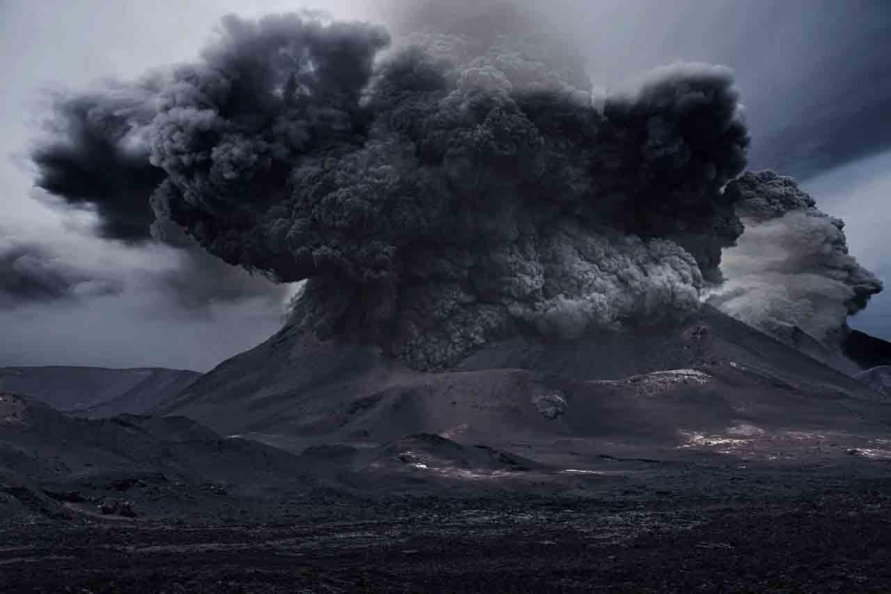 Ilha de São Vicente estremece com maior explosão vulcânica de sua história. Foto ilustrativa: Pixabay