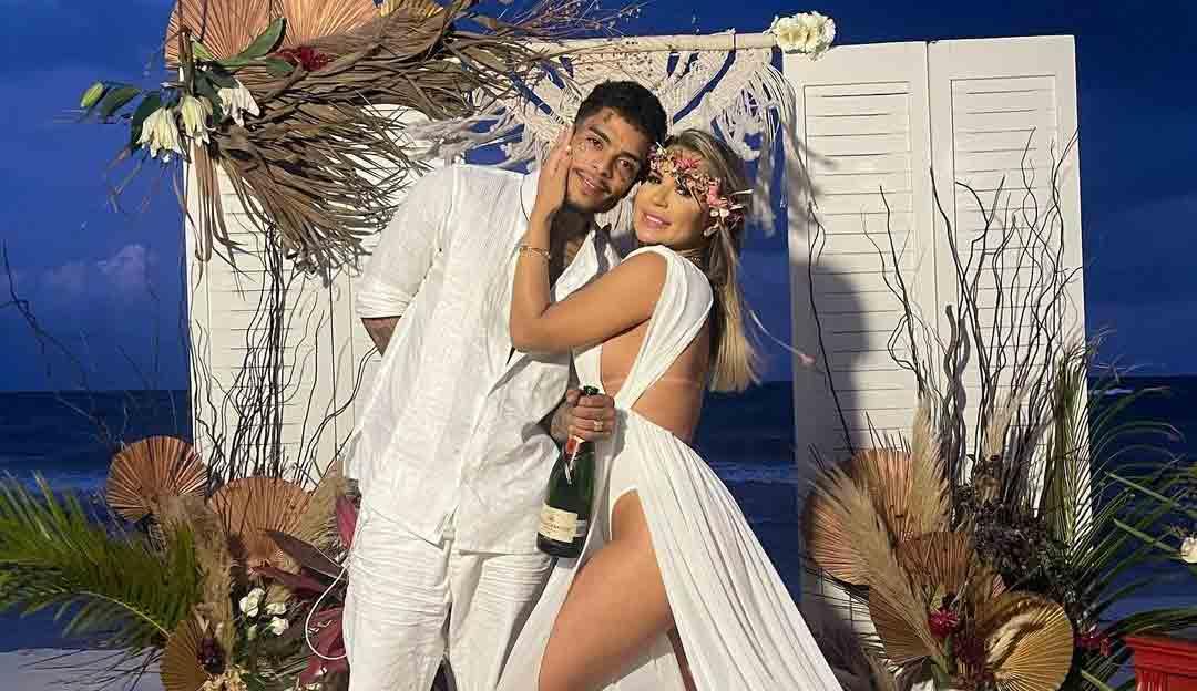 Deolane Bezerra, viúva de MC Kevin se revolta com  suposta conversa de acompanhante de luxo com MC VK. Foto: Reprodução Instagram