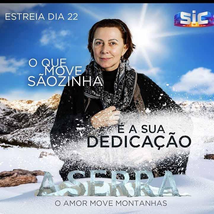 Morre a atriz portuguesa Maria João Abreu após sofrer um aneurisma em gravação de novela. Foto: Reprodução Instagram