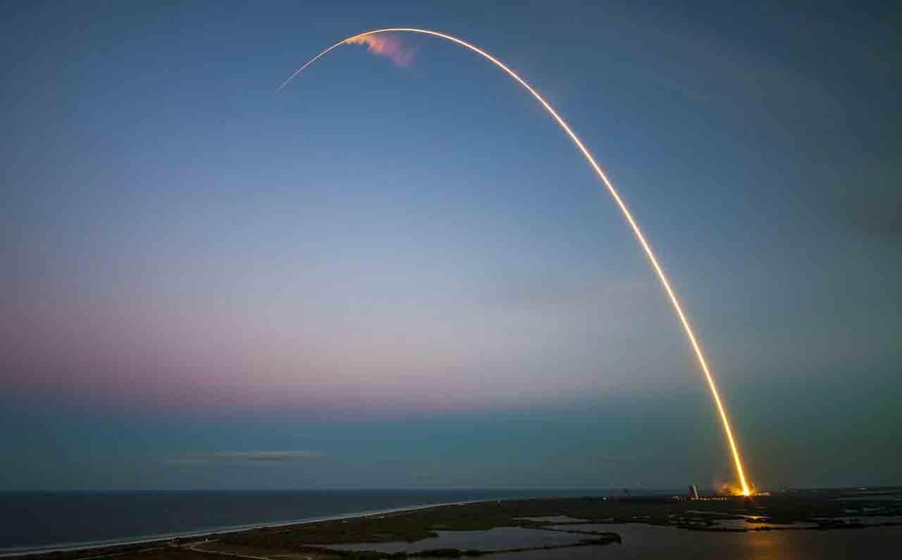 Lançamento de foguete. Foto: pixabay