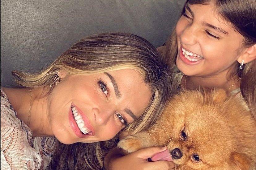 """Grazi Massafera se declara para a filha: """"Viver com muito amor"""" (Foto: Reprodução/Instagram)"""