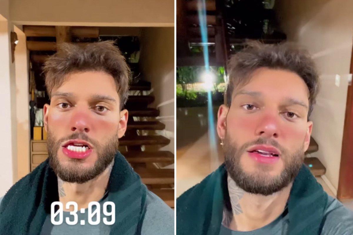 """Lucas Lucco conta que está treinando de madrugada: """"É o jeito"""" (Foto: Reprodução/Instagram)"""