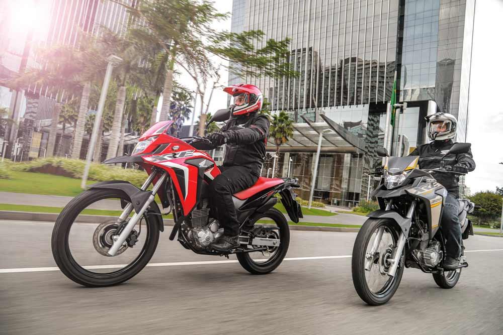 Honda XRE 300 2022. Foto: Divulgação