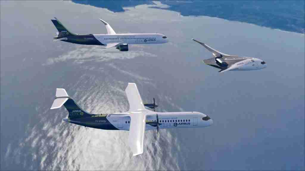 Airbus anuncia criação de centros tecnológicos para acelerar criação de aviões a hidrogênio