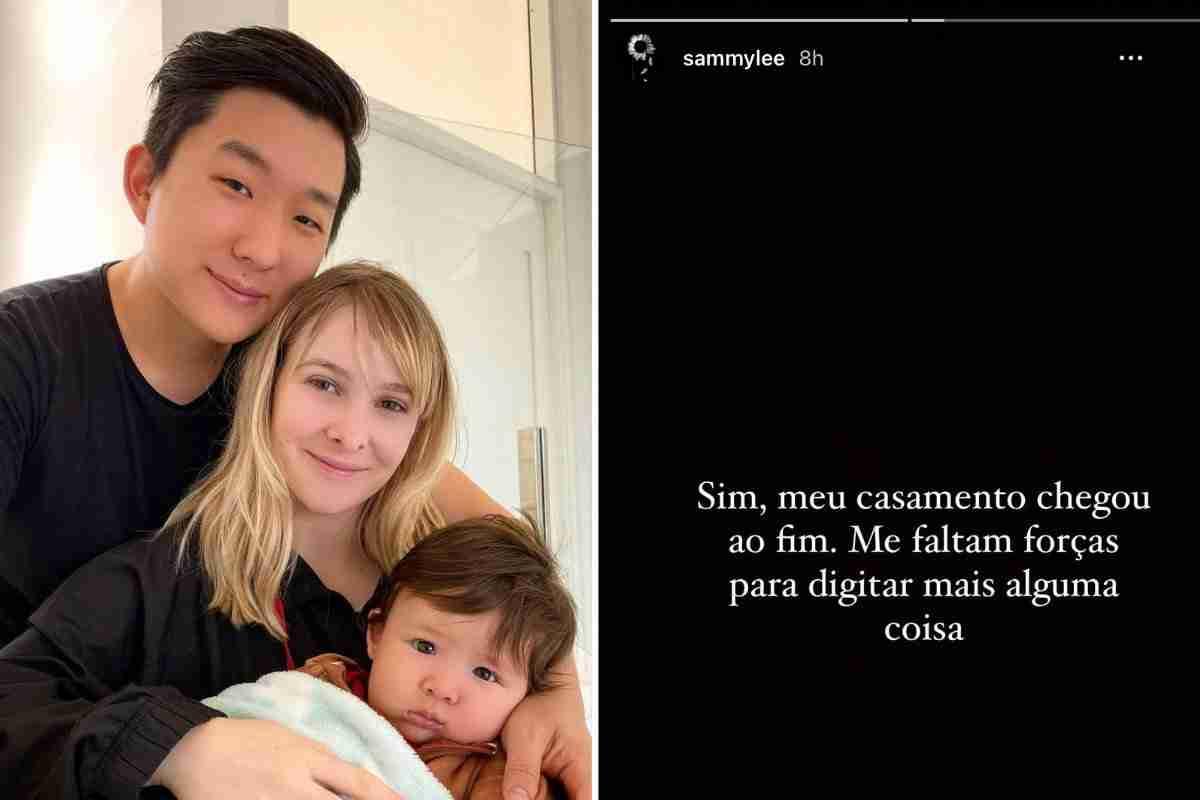 """Sammy Lee revela que seu casamento com Pyong Lee acabou após """"Ilha Record"""" (Foto: Reprodução/Instagram)"""