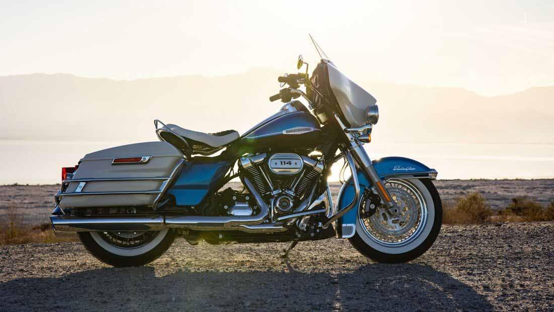 Harley CVO Limited. Foto: Divulgação